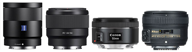 50mm-55mm-f1-8-lenses