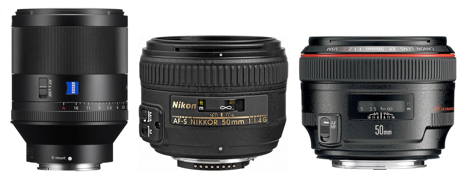 50mm F1.4 Lenses