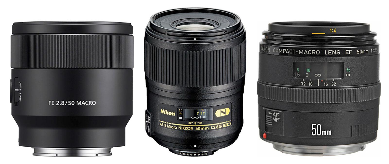 50mm Macro lenses