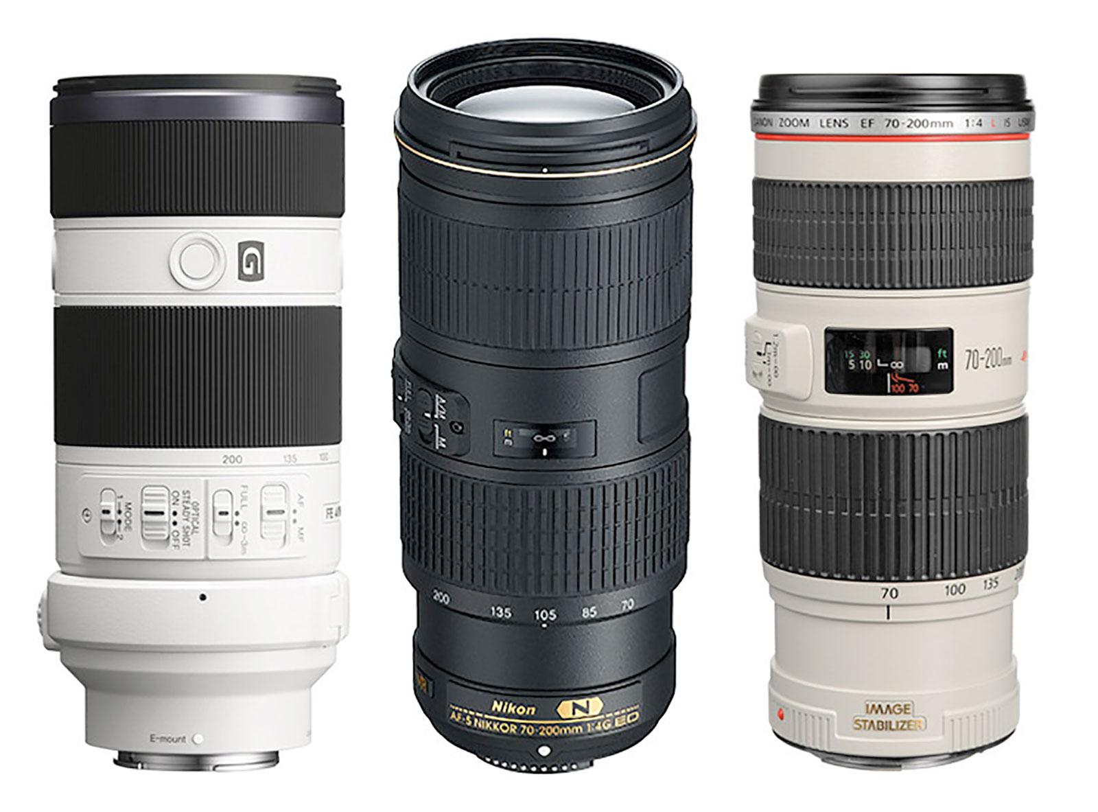 70-200mm F4 Zoom Lenses