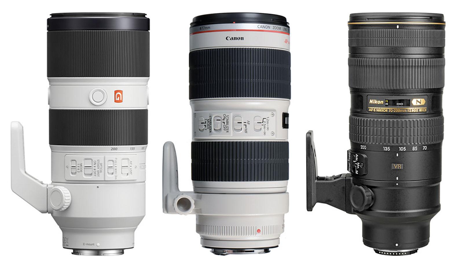 70-200mm F2.8 Zoom Lenses