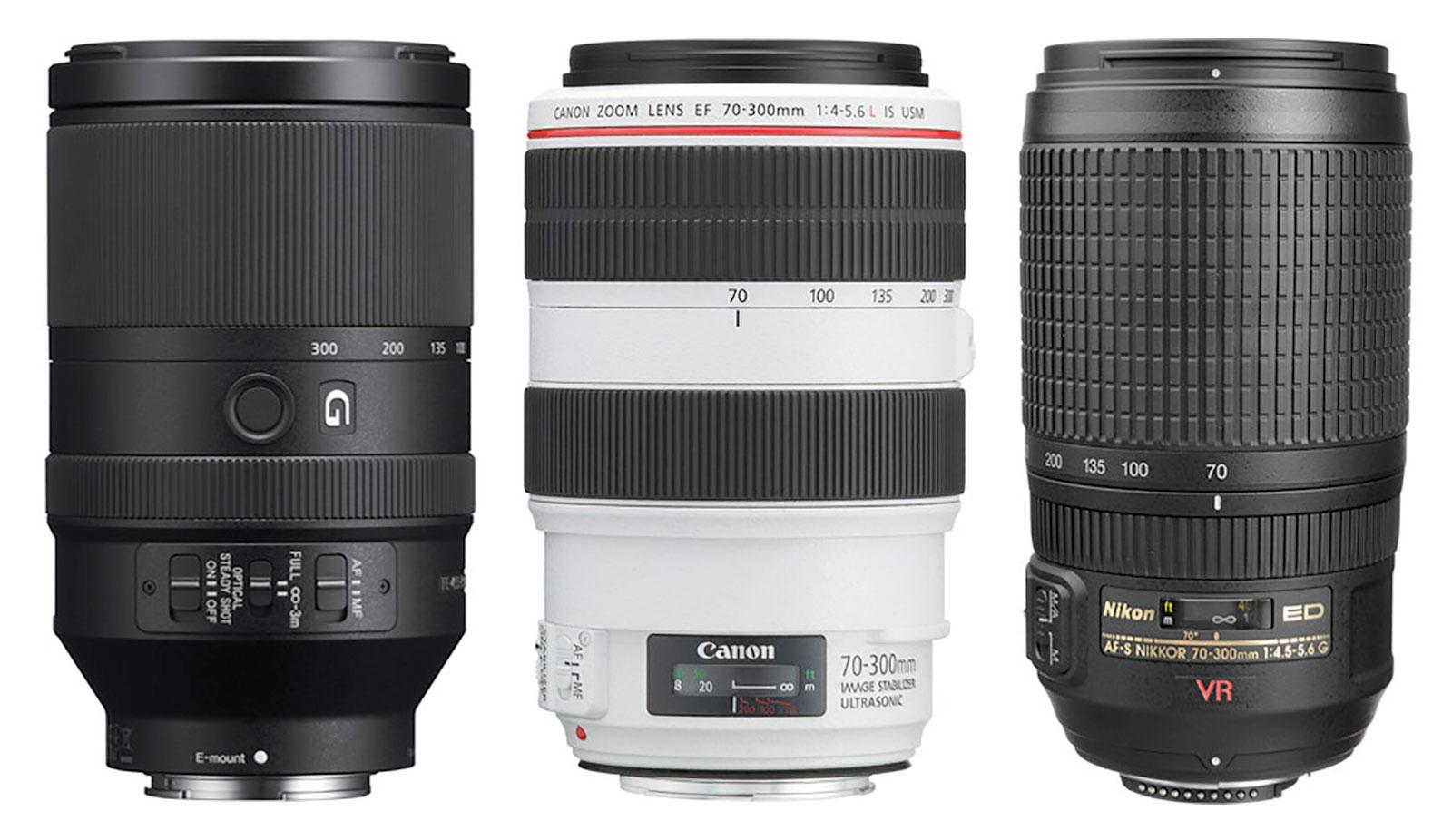 70-300mm F4.5-5.6 Zoom Lenses