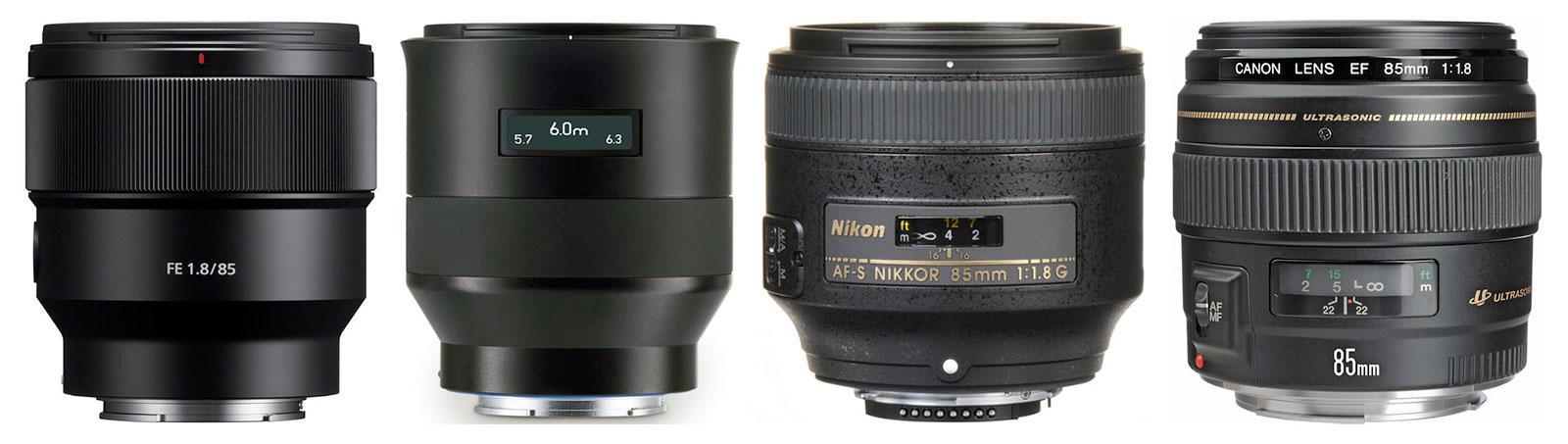 85mm F1.8 Lenses