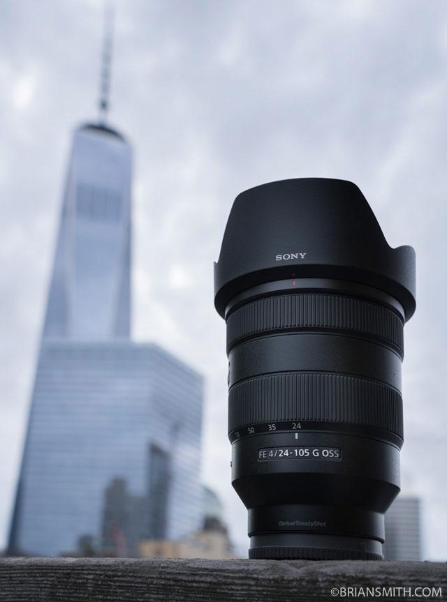 Sony FE 24-105 G OSS lens