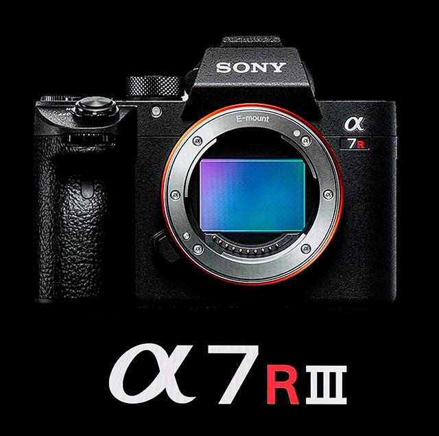 Sony a7RIII camera