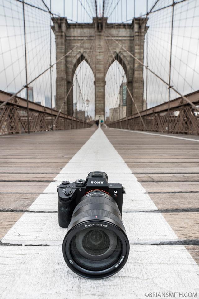 Sony a7RIII camera + FE 24-105 G OSS lens