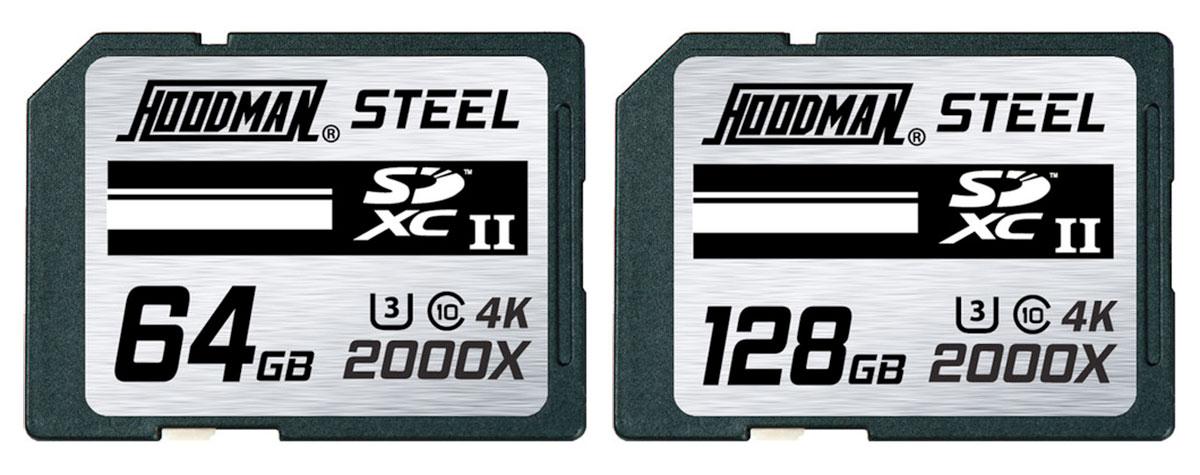 hoodman steel sdxc cards