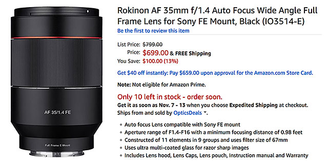rokinon-af-35mm-f1-4-fe-lens-amazon
