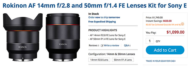 rokinon-fe-lenses-black-friday