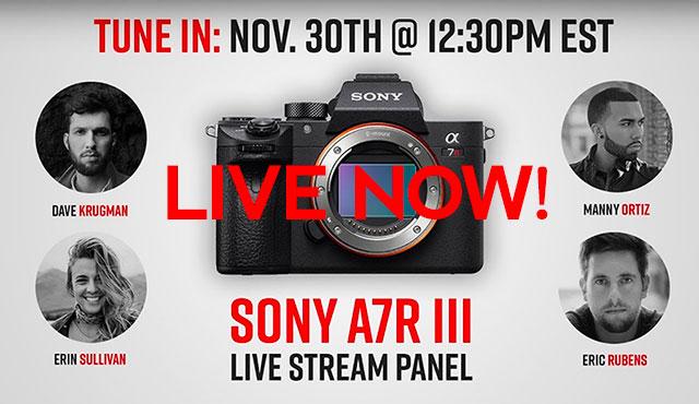 sony-a7r-iii-live-stream-now