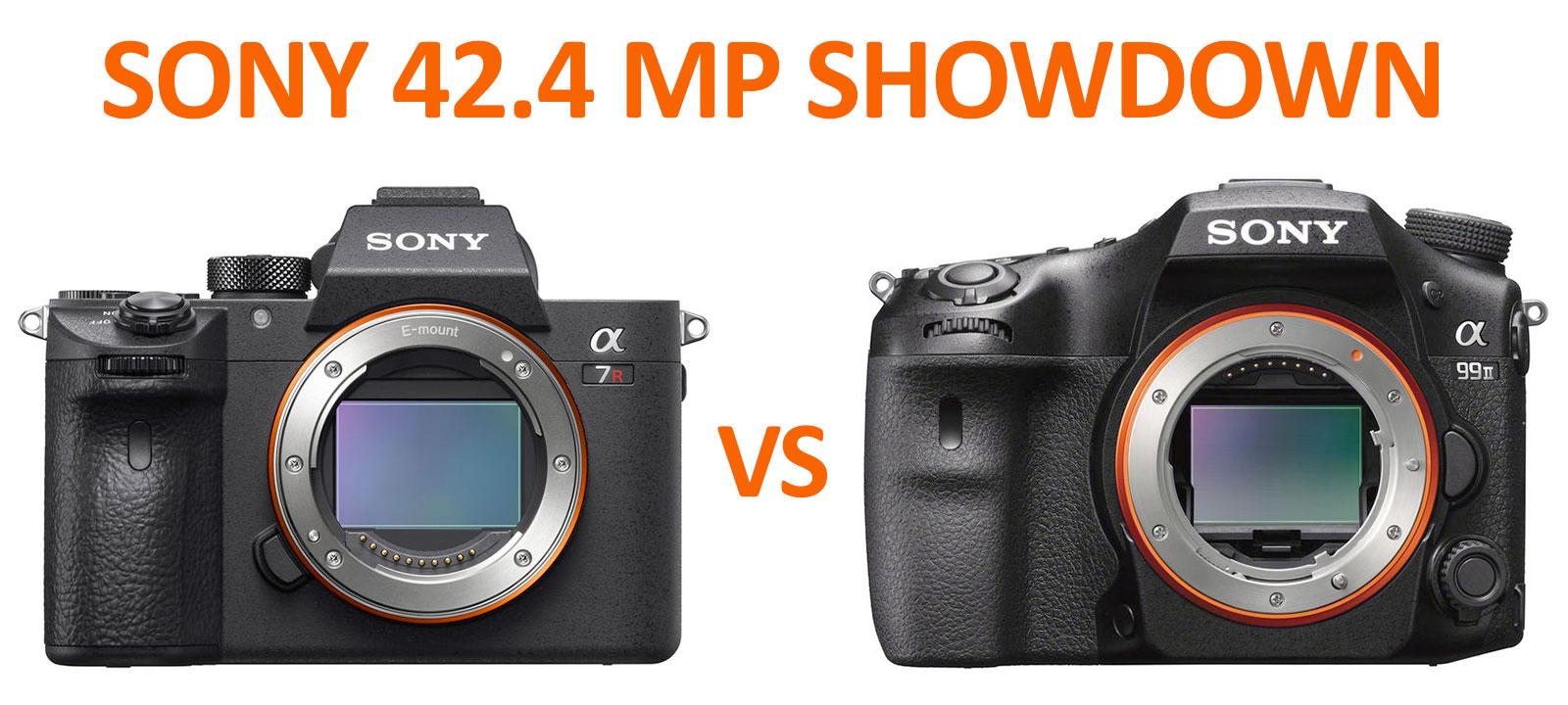 Sony a7R III vs a99 II 42 mp Showdown