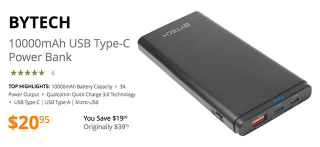 bytech-10000mah-usb-c-power-bank