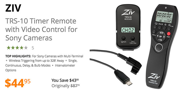 zix-trs-10timer-remote-video-control-sony
