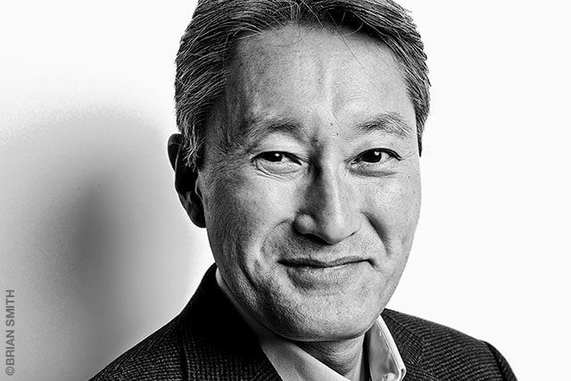 Sony CEO Kazuo Hirai at CES 2017 Las Vegas