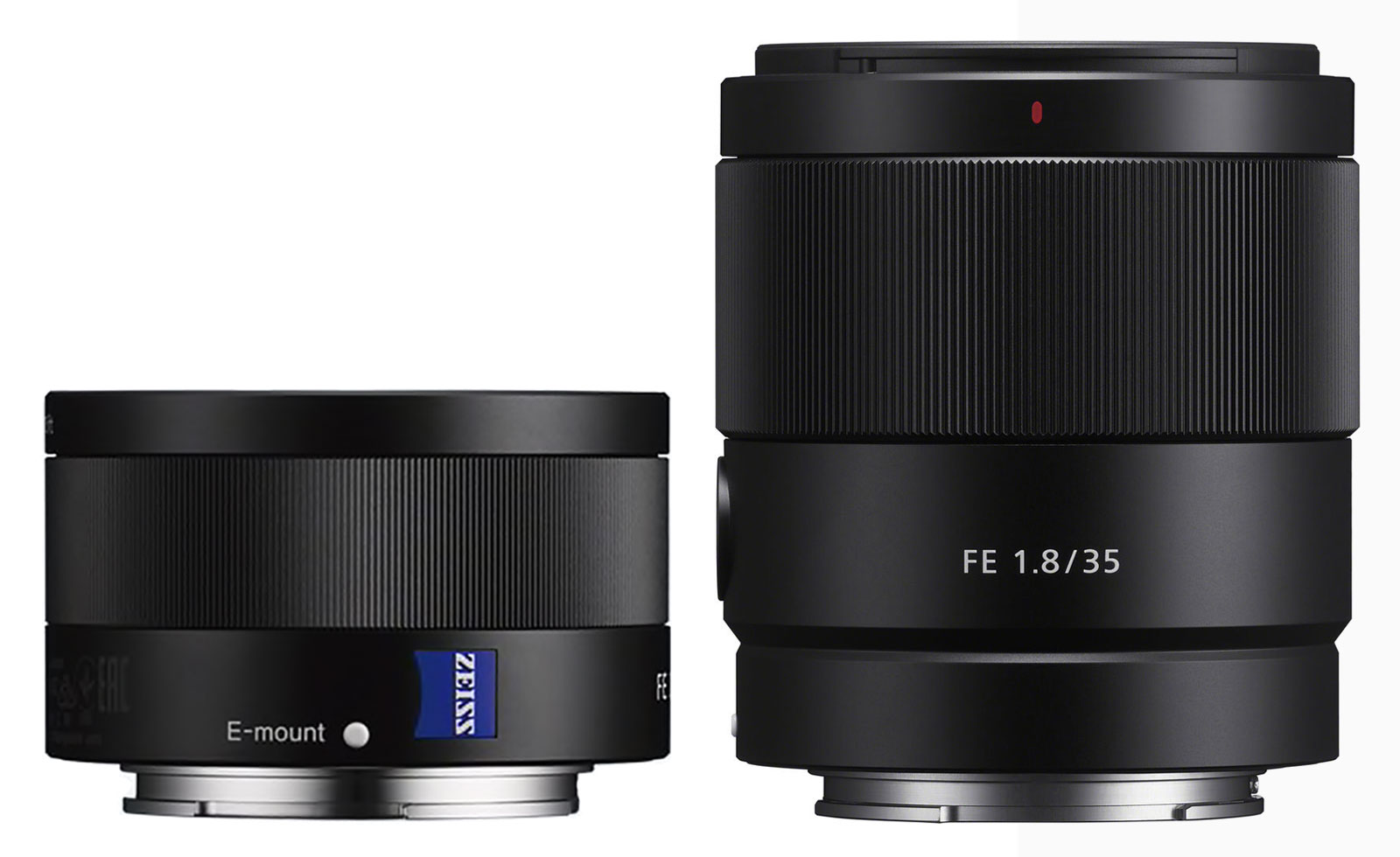 Sony Sonnar T* FE 35mm F2.8 ZA vs Sony FE 35mm F1.8