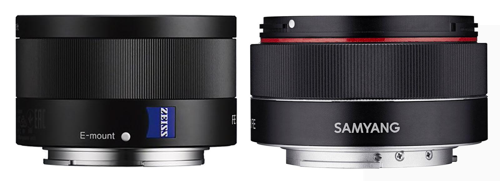 Sony FE 35mm F2.8 ZA vs Samyang AF 35mm F2.8 FE lens comparison
