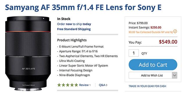 samyang-af-35mm-f1-4-lens-deal