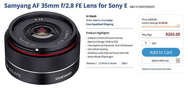 samyang-af-35mm-f2-8-lens-deal