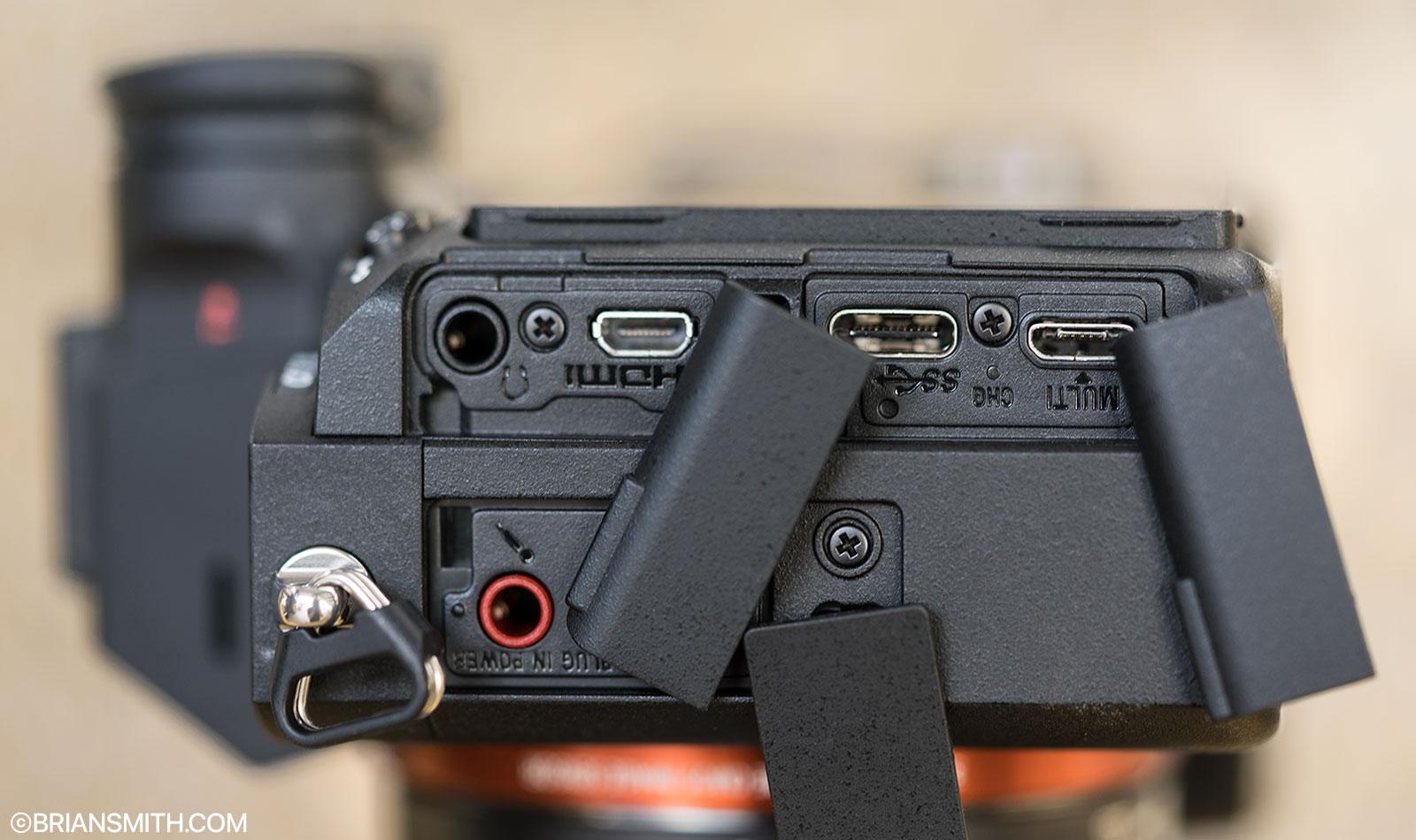 Sony a7 III ports
