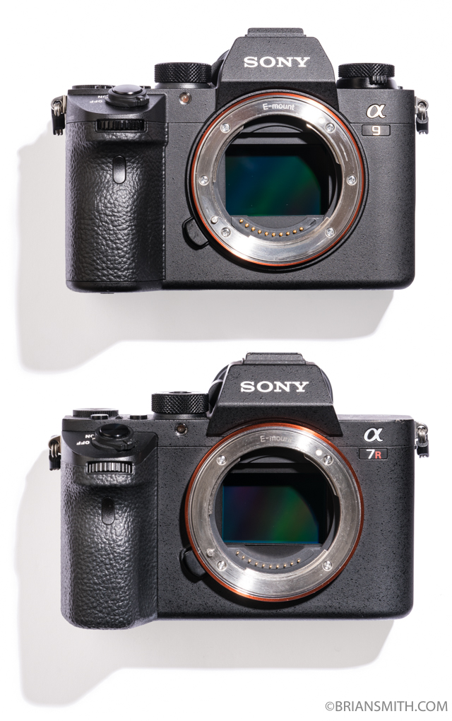 IMAGE: http://briansmith.com/wp-content/uploads/2018/04/Sony-a9-a7RII-front.jpg