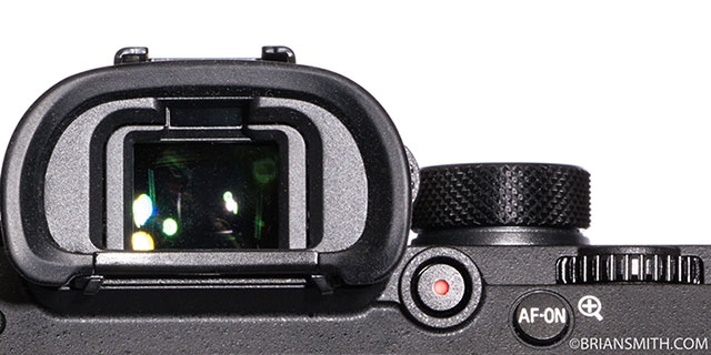 Sony a9 Video Recording button