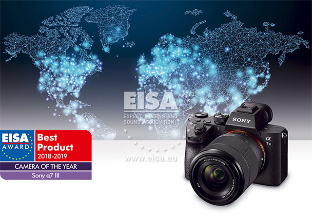 Sony a7 III Wins 2018 EISA Camera of the Year