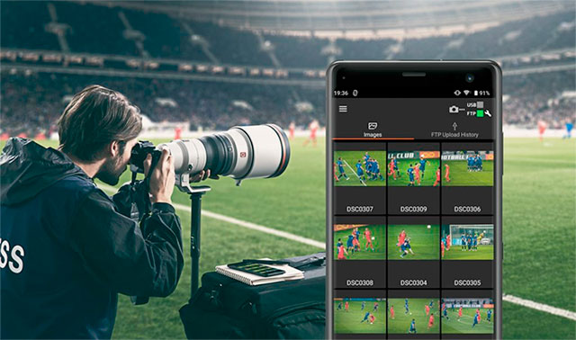 Sony Imaging Edge Mobile: Using Transfer & Tagging
