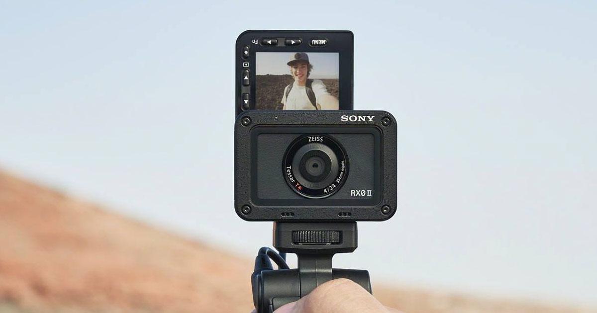 Sony RX0 II camera