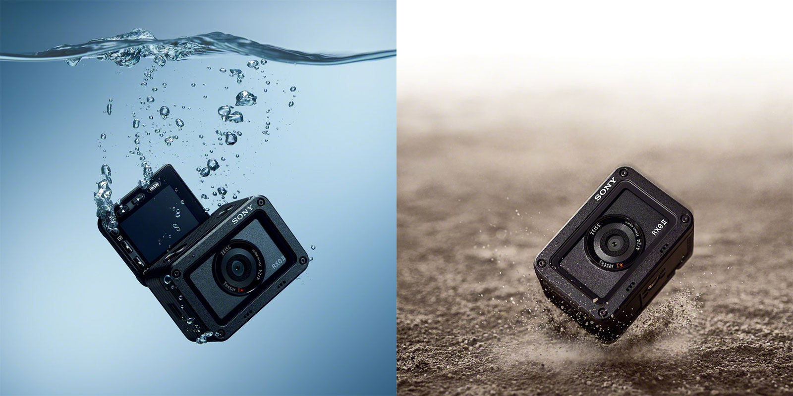Sony RX0 II dust and water-proof