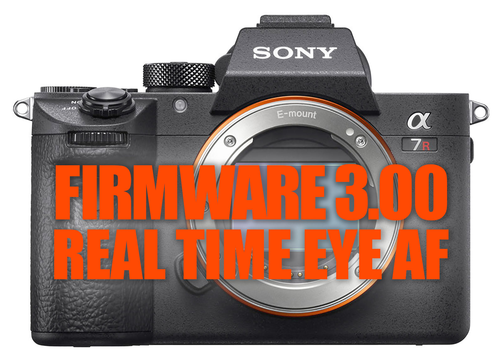 Real Time Eye AF works with a7 III & a7R III FW 3.00