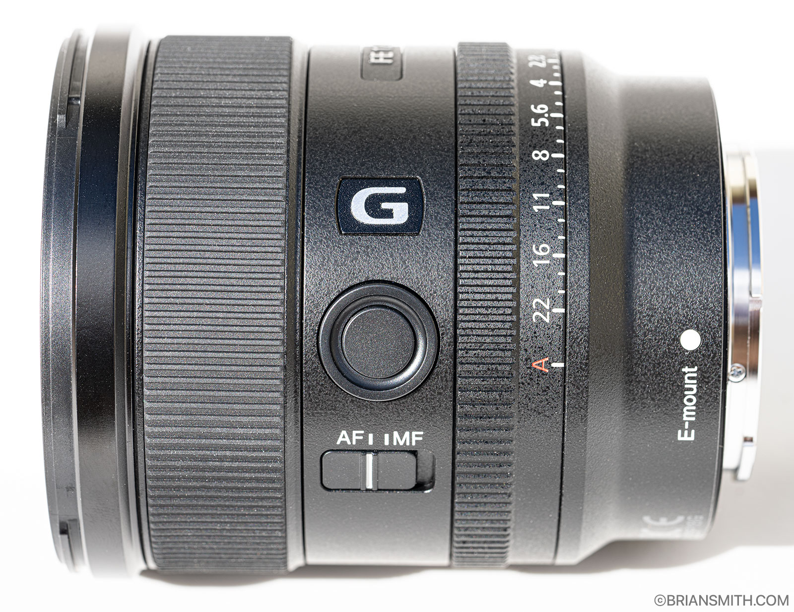 Sony FE 20mm F1.8 G focus hold button