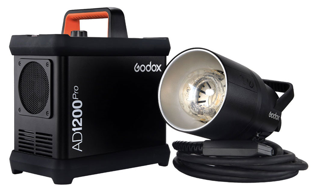 Godox AD1200 Pro Strobe Head and Pack