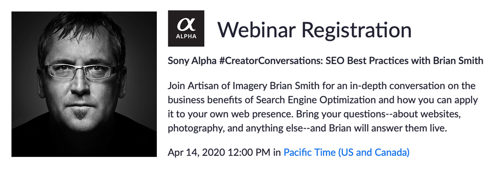 SEO Best Practices for Photographers with Brian Smith