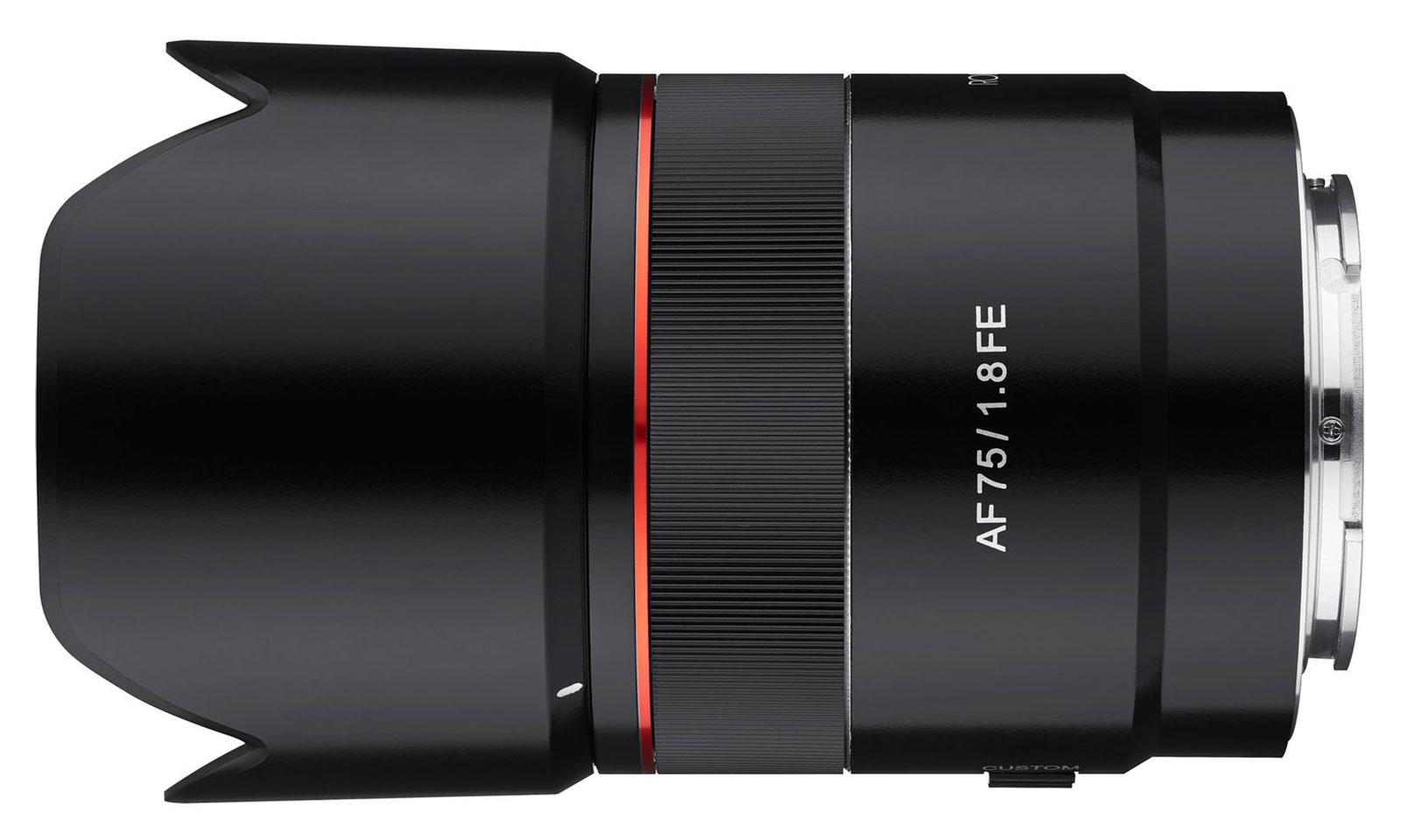 Samyang AF 75mm F1.8 FE Lens