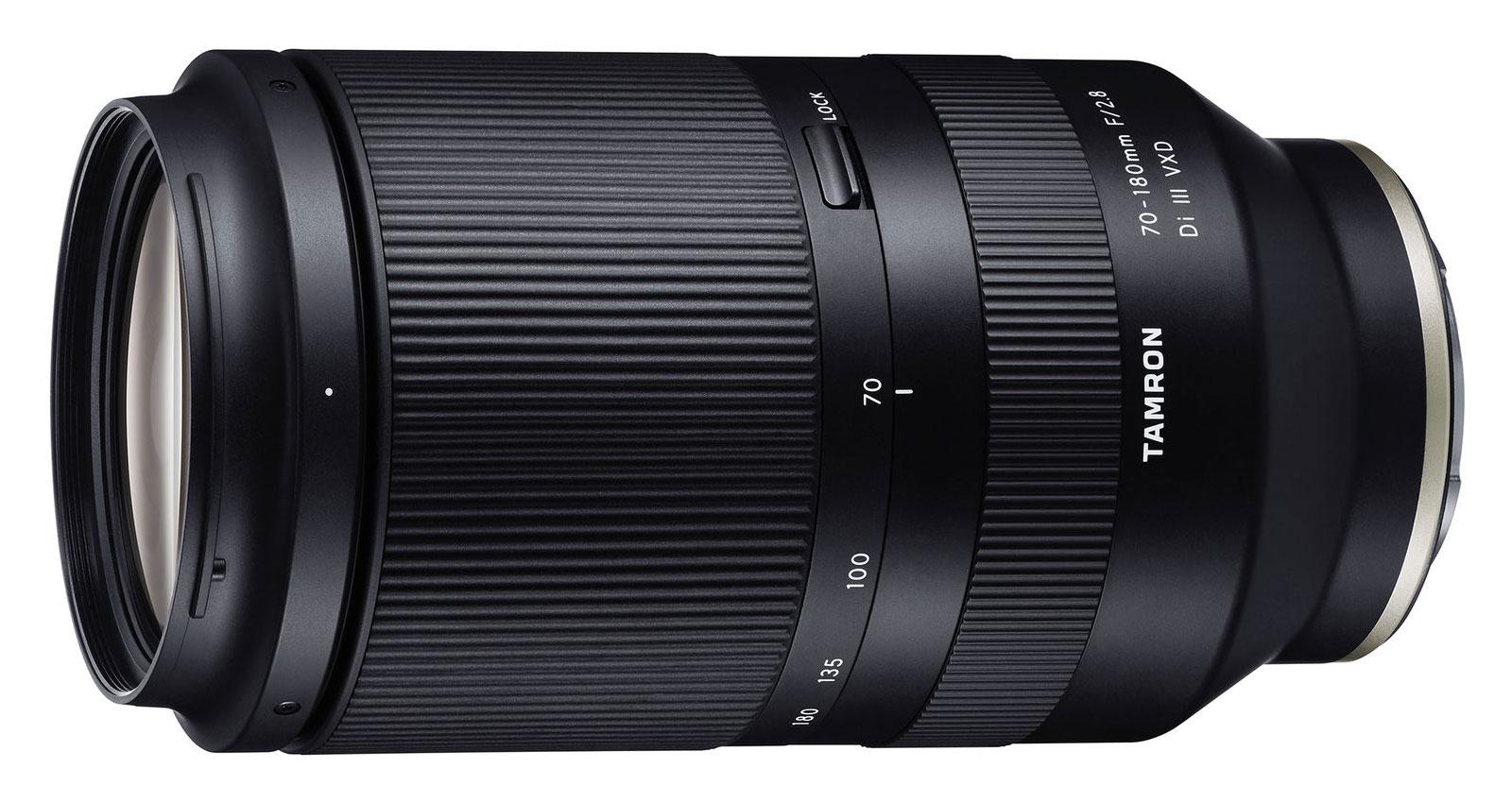 Tamron 70-180mm f/2.8 Di III VXD FE Lens
