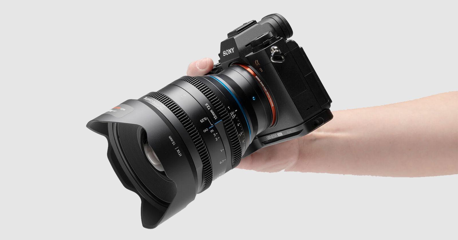 IRIX 15mm T2.6 Cine Lens Sony E-mount