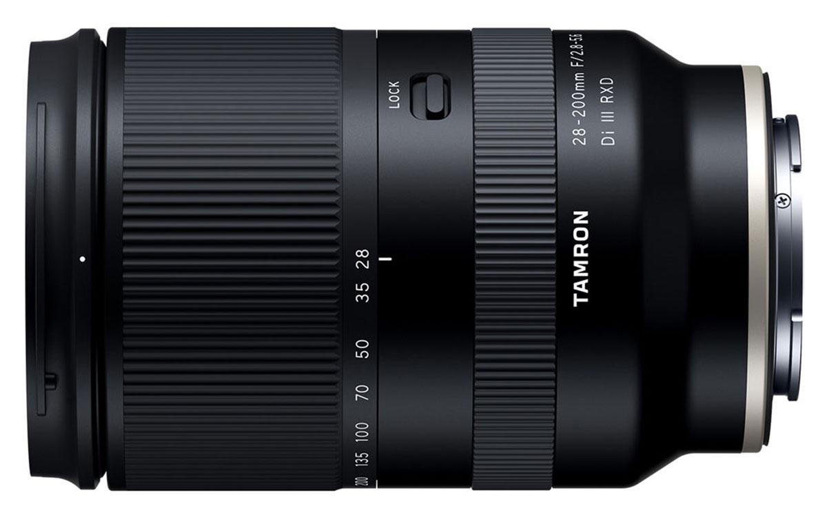 Tamron 28-200mm F/2.8-5.6 Di III RXD lens