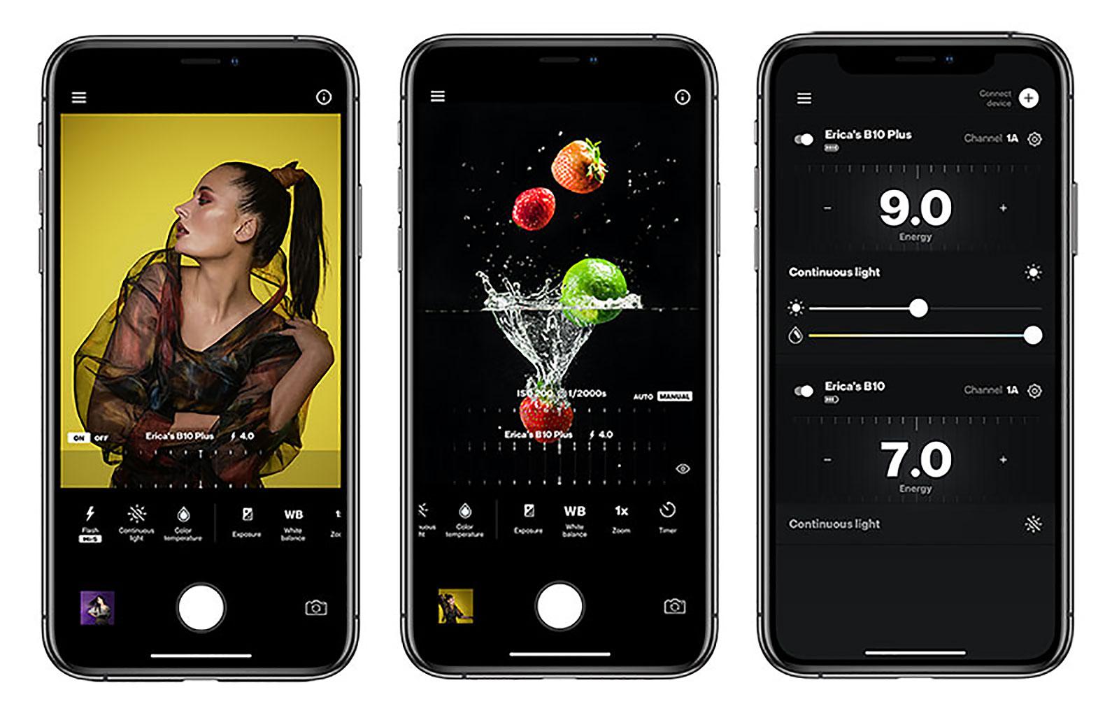 Profoto AirX Smartphone App