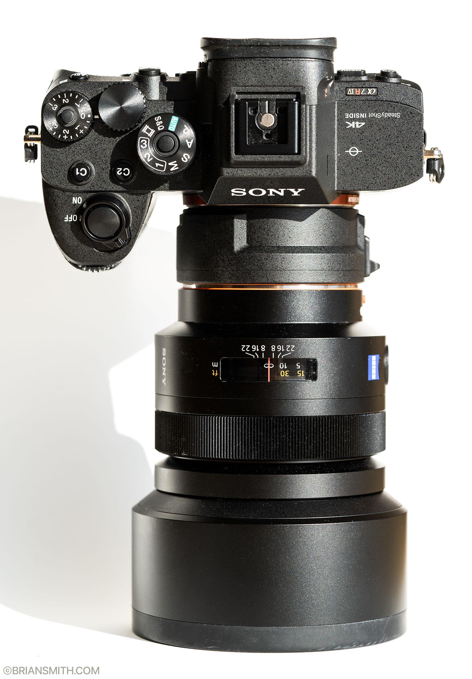 Sony LA-EA5 SAL 85mm F1.4 ZA