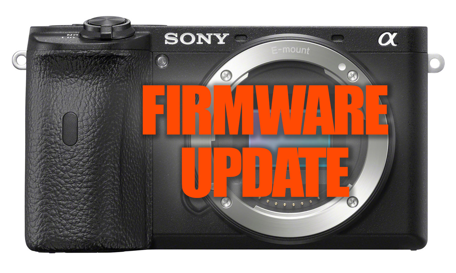 Sony a6600 Firmware Update FW 1.10
