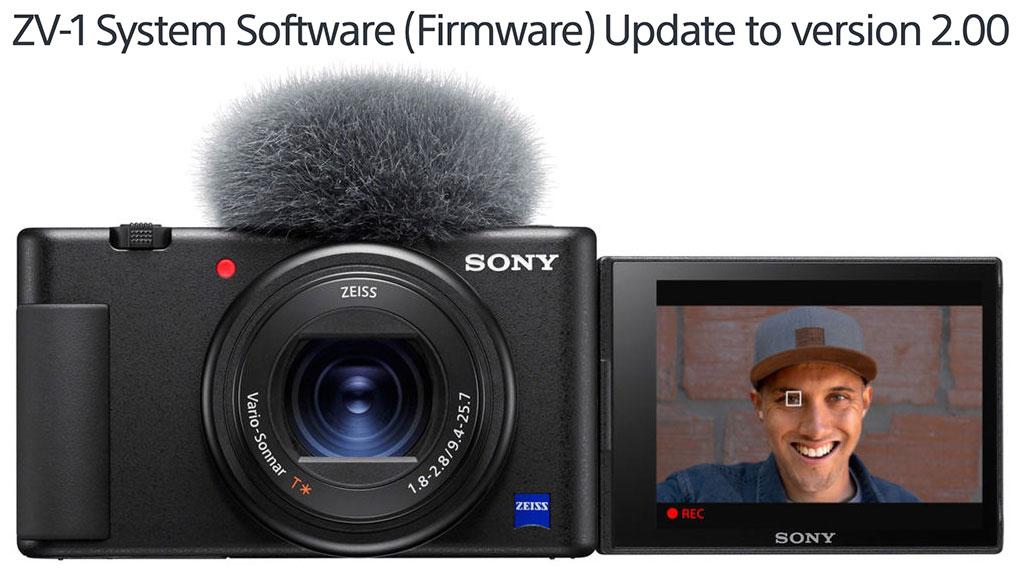 Sony ZV-1 Firmware Update 2.00