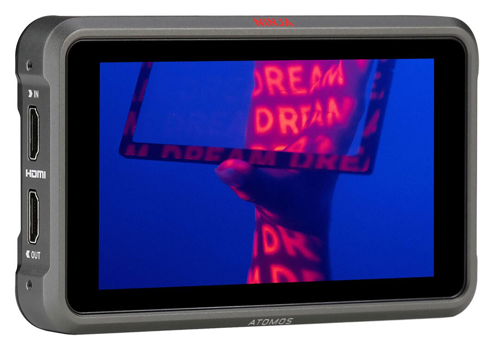 Atomos Ninja V+ 8K HDMI H.265 Raw Recording Monitor