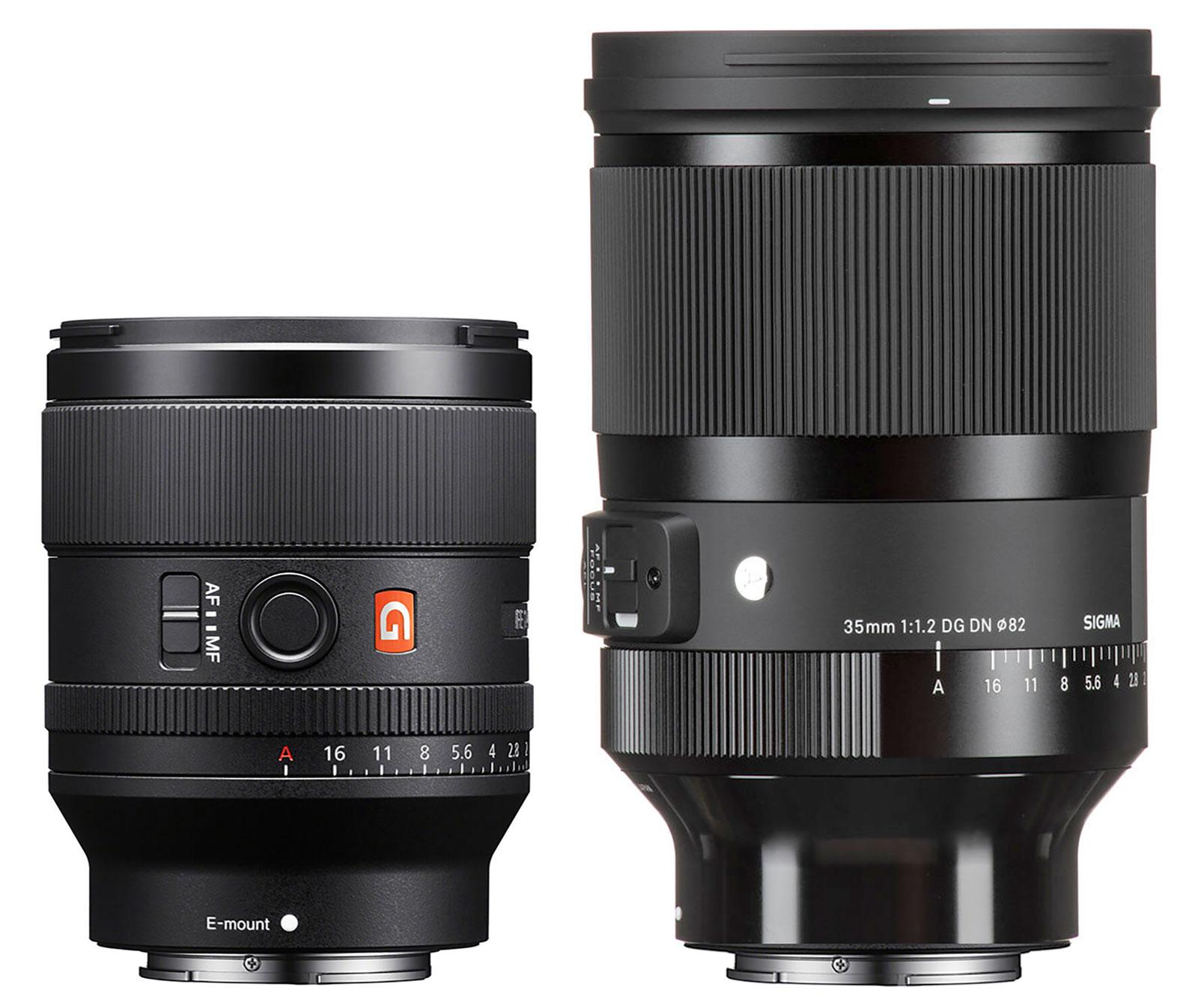 Sony FE 35mm f/1.4 GM -vs- Sigma 35mm f/1.2 DG DN Art