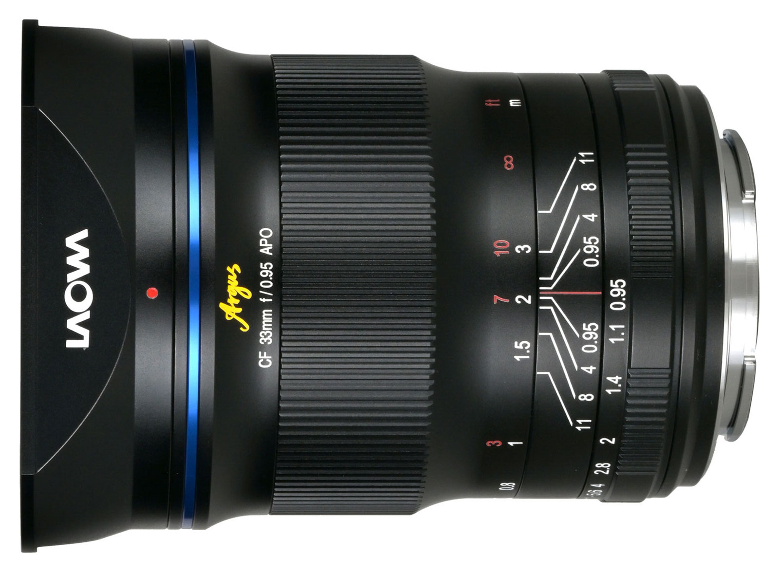Laowa Argus 33mm f/0.95 CF APO APS-C Lens
