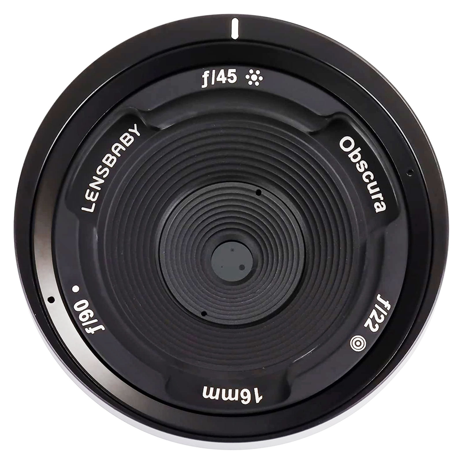 Lensbaby Obscura 16mm Pinhole/Zone Plate Pancake Lens