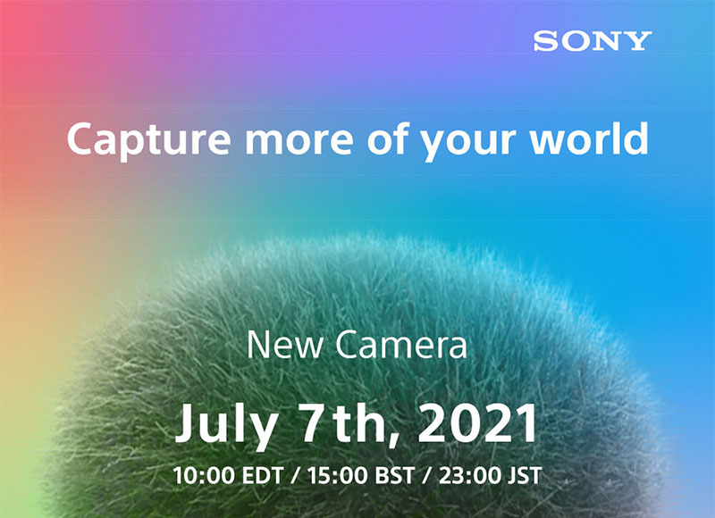 Sony Camera Announcement Coming July 7th