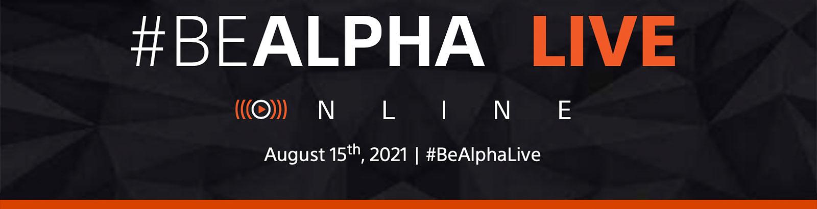 BeAlpha Live Online 8 15 21