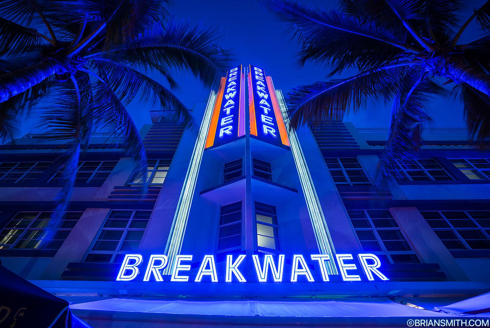 Breakwater Hotel Miami Beach  South Beach Florida