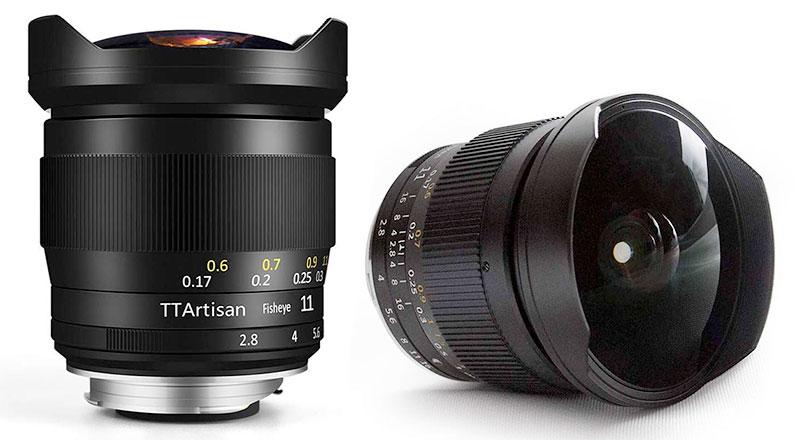 TTArtisan 11mm F2.8 Fulframe E-mount Fisheye Lens