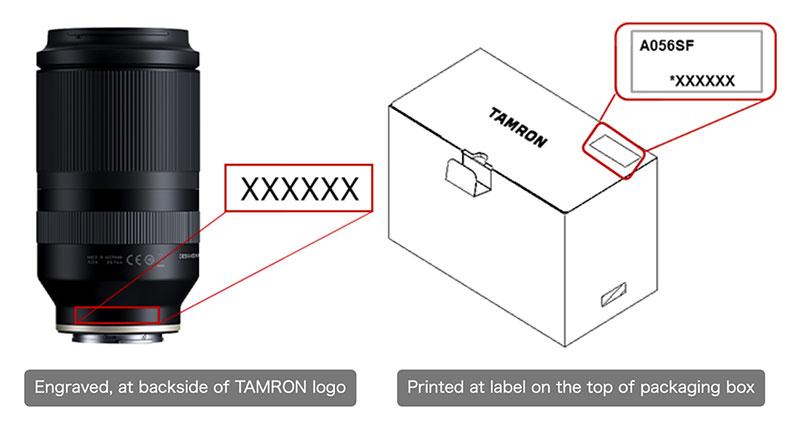 Tamron 70-180mm F/2.8 Di III VXD (Model A056) Lens Recall